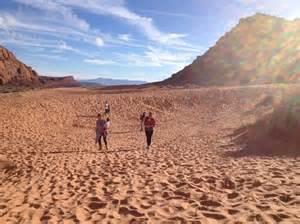 Sand Dunes Snow Canyon State Park Utah