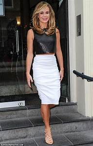Amanda Holden heads to BGT auditions with voluminous ...