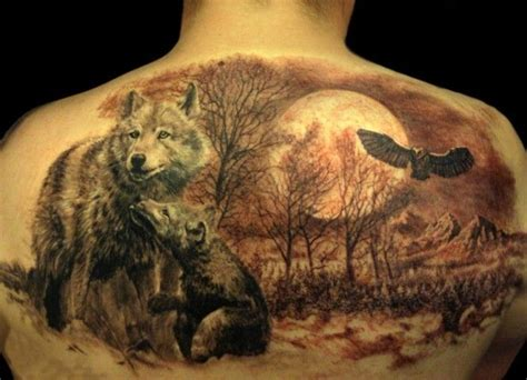 meaningful wolf tattoo designs ideas