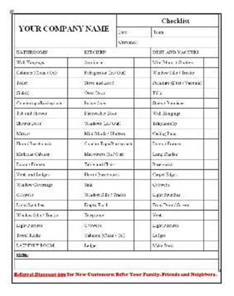 christmas cleaning templates 9 best cleaning checklist images on pinterest checklist