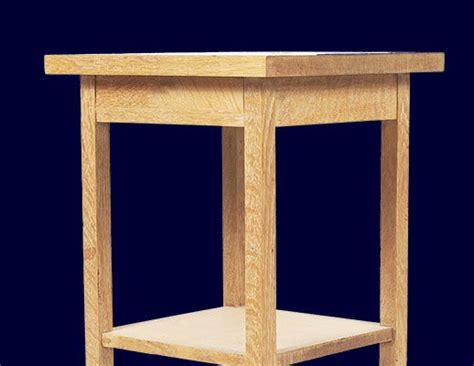 build  bedside table  plans night stand