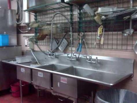kitchen sink restaurant mcdonald s employee takes bath in kitchen sink 2857