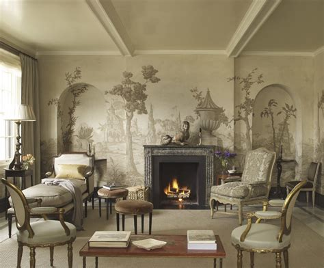 grisaille art wallpaper murals screenspart  laurel