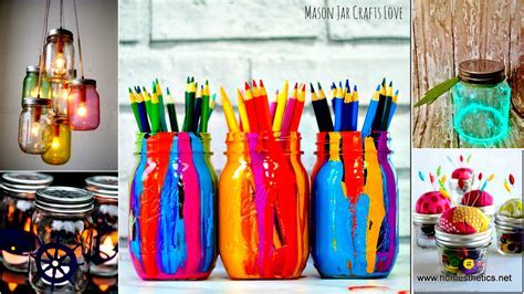 100 Mason Jars Crafts You Will Love