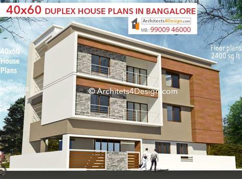 G+1 Home Design : 40x60 House Plans In Bangalore |40x60 Duplex House Plans