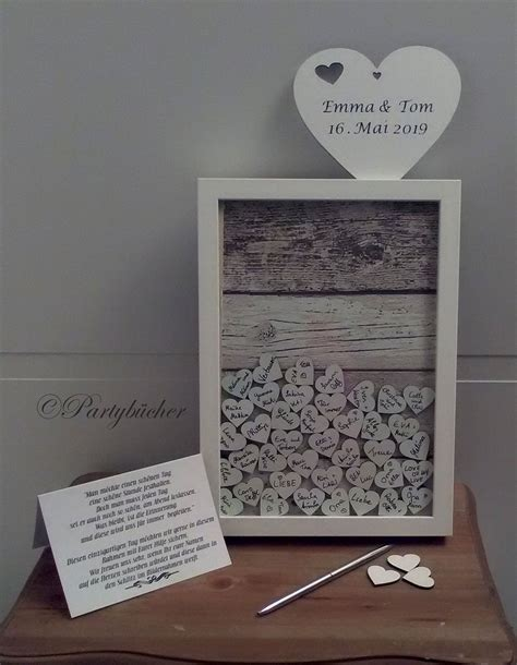 picture frame guestbook dropbox wedding guestbook