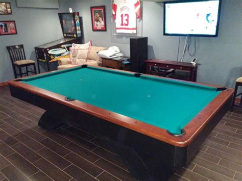 olhausen pool table accufast 9 39 olhausen waterfall pool table for sale