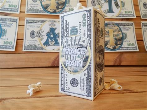 Printable Money Party Supplies  Money Theme Party Decorations