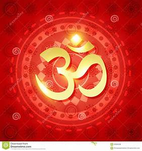 Shiny Hindu Om Royalty Free Stock Photos - Image: 26995038