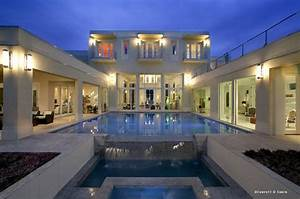Pin, On, Beautiful, Homes, With, Pools