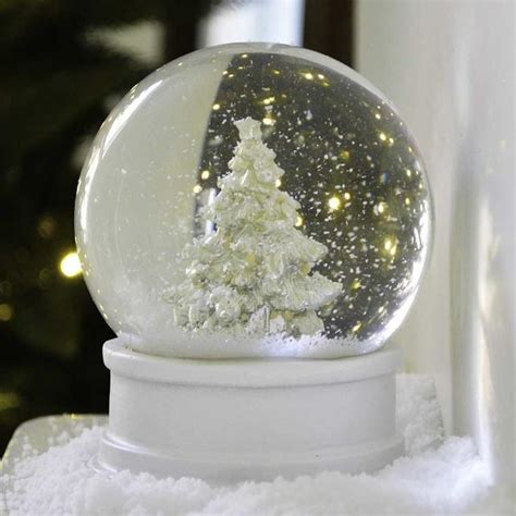 snow globe decorations the worm that turned