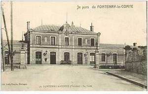 Fontenay Le Comte 85 : 85 fontenay le comte la gare pour montreuil 1919 ~ Medecine-chirurgie-esthetiques.com Avis de Voitures