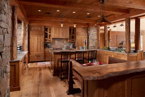 Modern Rustic Kitchen  Lighting  By Aldo Bernardi Usa By