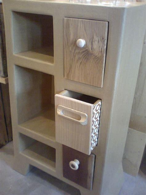 meuble de cuisine d appoint cuisine crã ations meubles bois palette sur a