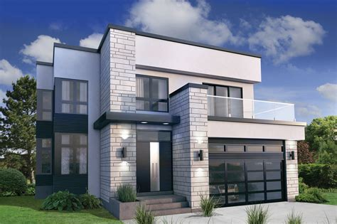 contemporary prairie style house plans small home one modern style house plan 3 beds 2 50 baths 2370 sq ft