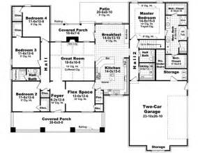 house plans two master suites one story the ridge 6388 4 bedrooms and 2 baths the house designers