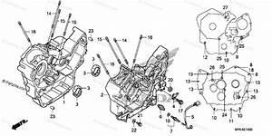 Honda Motorcycle 2008 Oem Parts Diagram For Crankcase