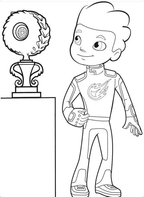 Kleurplaat Blaze by Top 31 Blaze And The Machines Coloring Pages