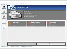 OBDII diagnostic software for Windows, Mac and Linux