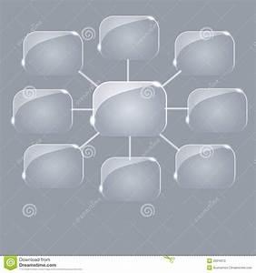 Empty Flow Chart Diagram Stock Illustration  Illustration