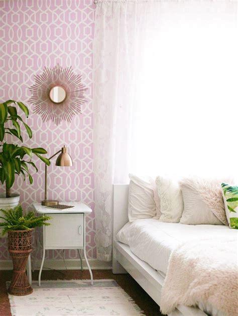 bedroom progress wallpops collab bedroom home