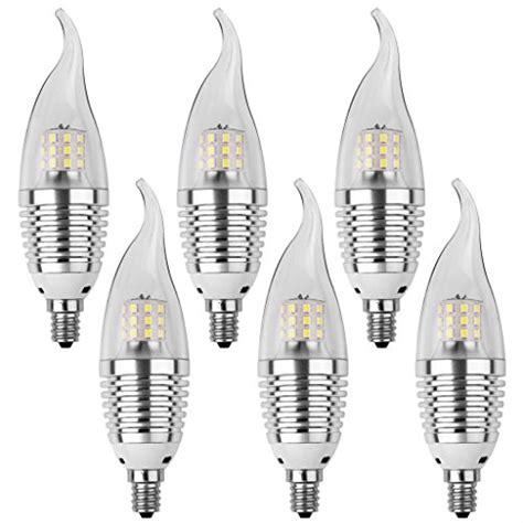 ledmo led candelabra bulb 60w equivalent base e12 7w