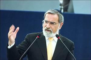 British Chief Rabbi Sir Jonathan Sacks addresses MEPs
