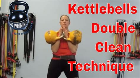 clean kettlebell double