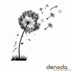 Bild Pusteblume Schwarz Weiß : pusteblume detailreich wandtattoo ~ Bigdaddyawards.com Haus und Dekorationen