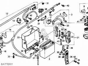 Honda Gl1500 Goldwing 1988  J  Usa California Parts List