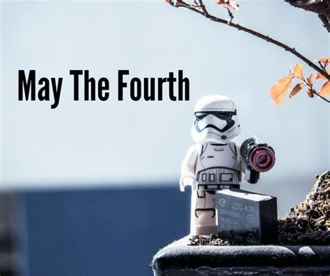 May the 4th Be With You. Happy Star Wars Day!