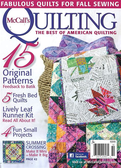 mccalls quilting magazine subscriptions renewals gifts