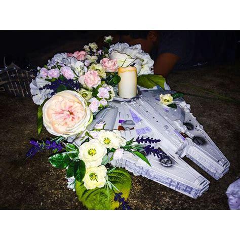 sweetheart table centerpiece star wars wedding dyi