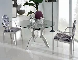 Table Sejour Design : table manger design moderne et contemporain en verre ~ Teatrodelosmanantiales.com Idées de Décoration