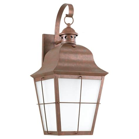 sea gull lighting hunnington 1 light outdoor weathered