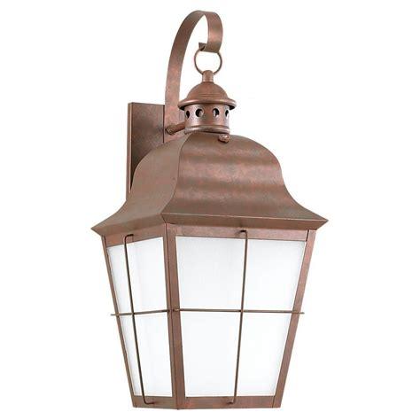 sea gull lighting hunnington 1 light outdoor weathered