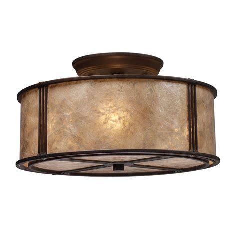 titan lighting barringer  light aged bronze ceiling semi