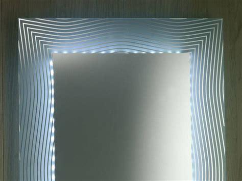 specchi arredo bagno specchio retro illuminato arredo bagno motive