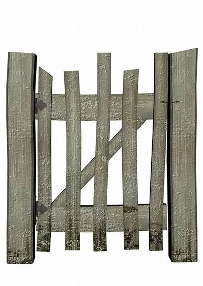 Fence Objects Wood Clipart Transparent Graphics Clip