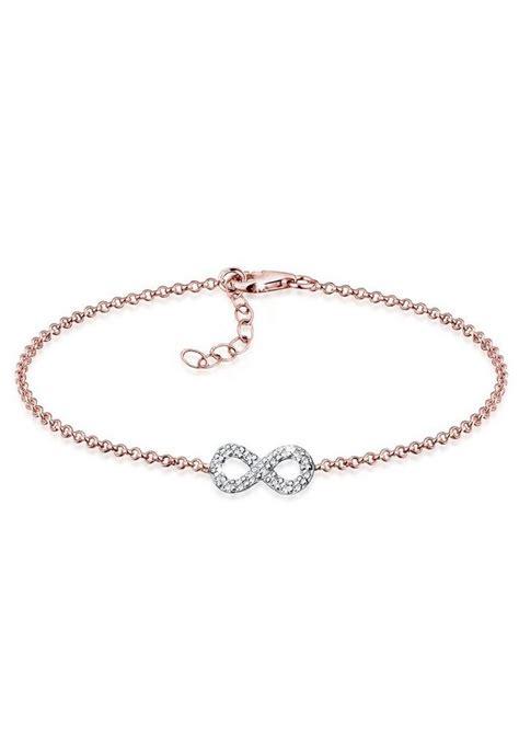 swarovski armband rosegold elli armband 187 swarovski kristalle 925 sterling silber