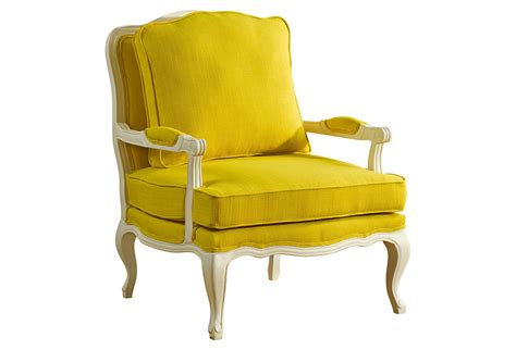 agatha accent chair yellow accent from one