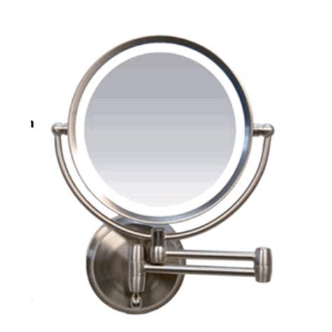 zadro ledw410 led lighted cordless wall mirror