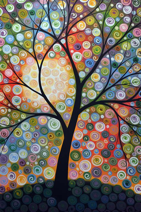 This tutorial will guide you through the steps share your art here! Original Abstract Tree Landscape Art Painting ... Waiting For the Moon Painting by Amy Giacomelli
