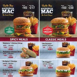 Indian Mcdonalds Menu | www.pixshark.com - Images ...