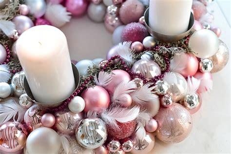 Adventskranz Zum Selber Machen by Adventskranz Aus Weihnachtskugeln Selber Machen
