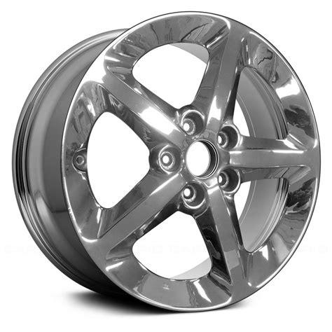 """Original alloy stock rim for: Replace® - Hyundai Sonata 2006 17"""" Remanufactured 5 Spokes ..."""