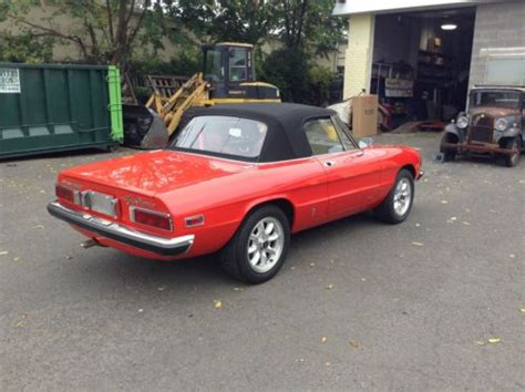 Sell Used 1976 Alfa Romeo Spider 2000 Immaculate, Low