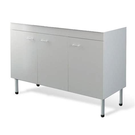 mobile per la cucina mobile sottolavello per la cucina 120x50 cm color bianco a