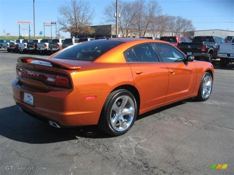 Toxic Orange Pearl 2011 Dodge Charger R/T Plus Exterior