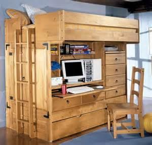 edgy loft beds with desk design ideas